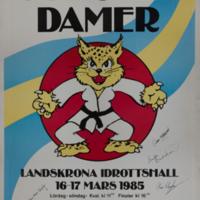 Women's European Judo Championships 1985