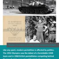 Modern Pentathlon Poster Quiz: 08