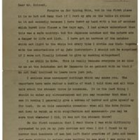 Letter from Japan 1934