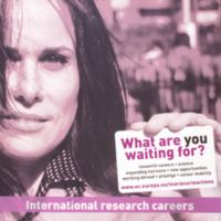 International research careers