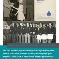 Modern Pentathlon Poster Quiz: 10