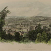 City of Bath viewed from the vicinity of Prior Park