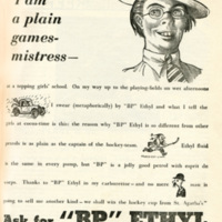 'I'm a plain games-mistress' 1933