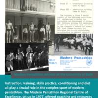 Modern Pentathlon Poster Quiz: 16