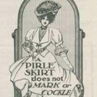 'Indispensable for the open-air girl' 1906