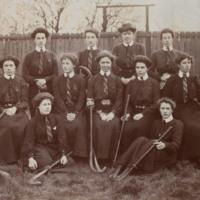 King's College Ladies' Hockey Club c 1900