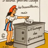 D'accord pour une Europe des travailleurs...