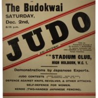 16th Annual Display of the Budokwai 1933